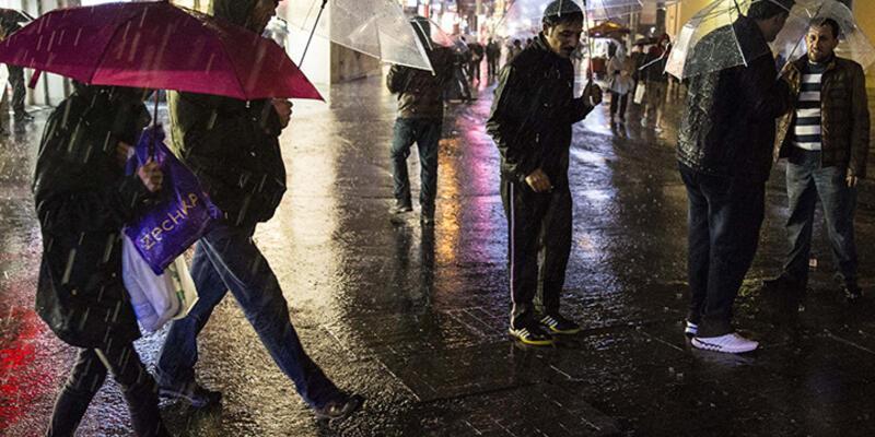 Yağmur İstanbul'da etkili oldu