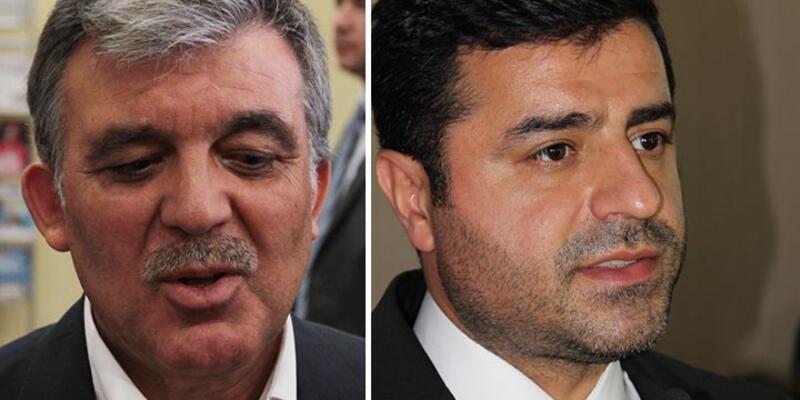 Eski Cumhurbaşkanı Abdullah Gül, Selahattin Demirtaş'ı aradı