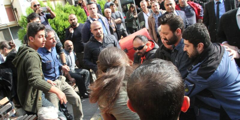 Hastane önündeki Dilek Doğan eylemine polis müdahale etti