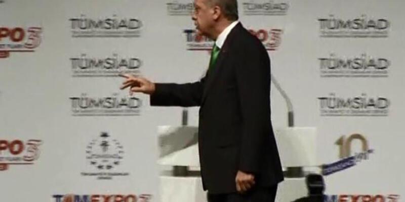 Erdoğan'ı kürsüden indiren önemli telefon