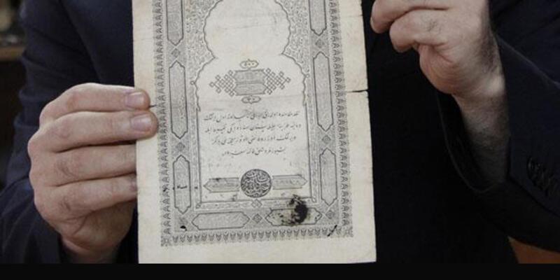 Sultan Abdülmecid'in kayıp '500 kuruş'u bulundu