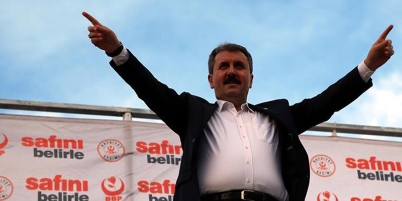 """Mustafa Destici: """"Tek sorumlu AKP iktidarıdır"""""""