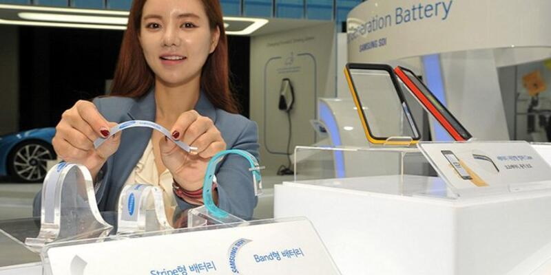 Samsung'tan sıradışı batarya teknolojisi