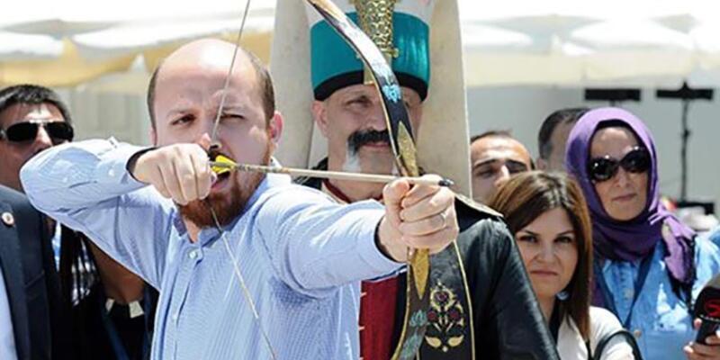 Bilal Erdoğan Okçular Vakfı'na gitti ve ok attı