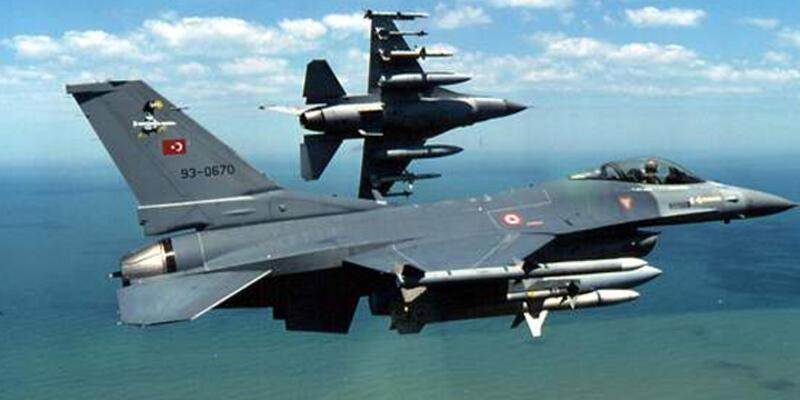Zer Tepe bölgesine hava harekatı: 5 PKK'lı öldürüldü