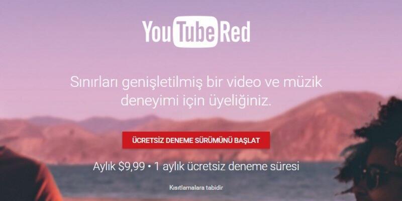 YouTube Red, ABD'de kullanıma sunuldu