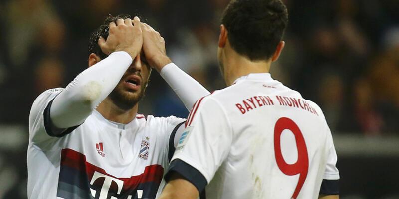Bayern Münih'in serisi bozuldu
