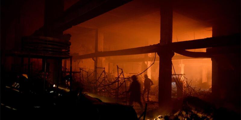 Filipinler'de yangın: 6'sı çocuk 15 kişi öldü