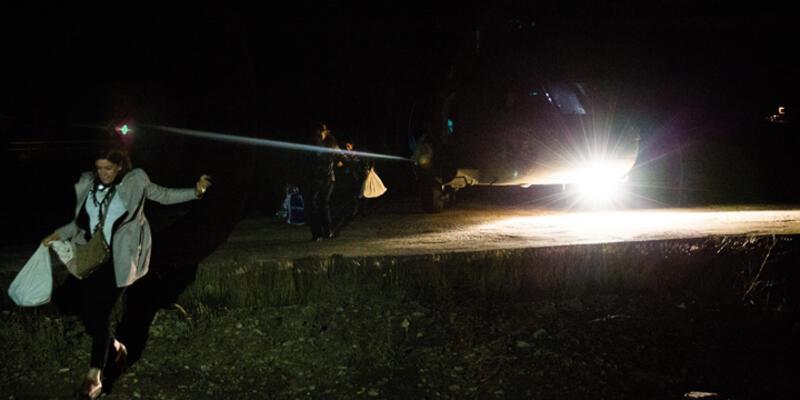Diyarbakır'da oy pusulaları askeri helikopterle taşındı