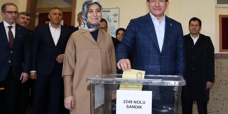 Davutoğlu'nun sandığından Ak Parti çıktı