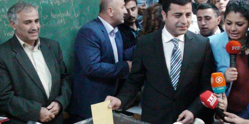 Demirtaş'ın oy kullandığı sandıktan AK Parti birinci çıktı