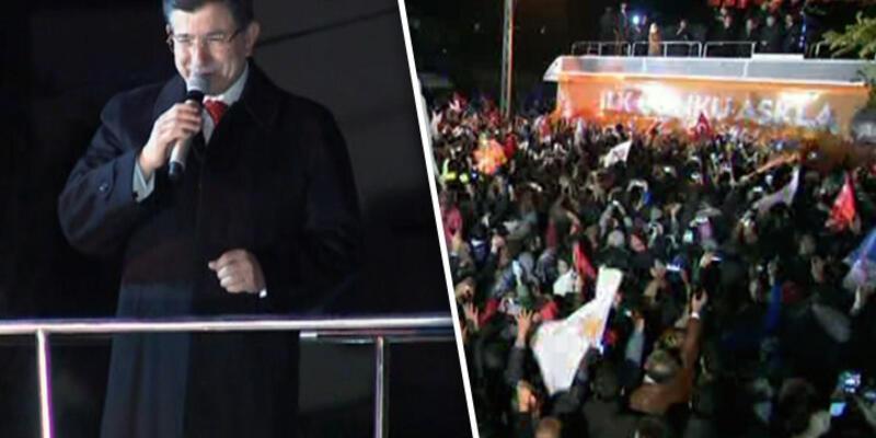 Başbakan Davutoğlu ilk konuşmasını Konya'da yaptı