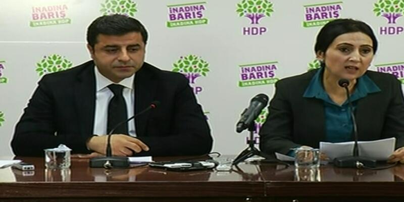 Demirtaş ve Yüksekdağ seçim sonuçlarını değerlendirdi
