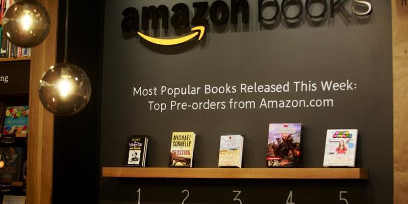 Amazon'dan Seattle'da ilk gerçek kitap dükkanı