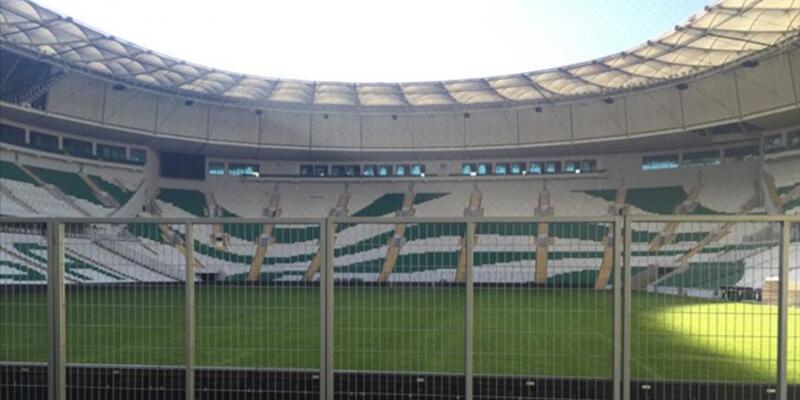 Timsah Arena Bursaspor taraftarlarını şoke etti!