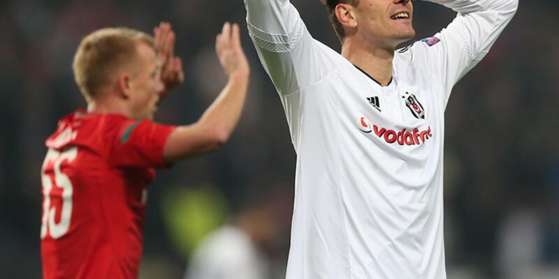 Beşiktaş Lokomotiv engelini aşamadı