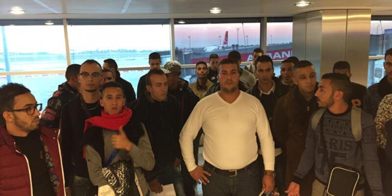 Faslılar önce gözaltına alındı sonra sınırdışı kararı verildi