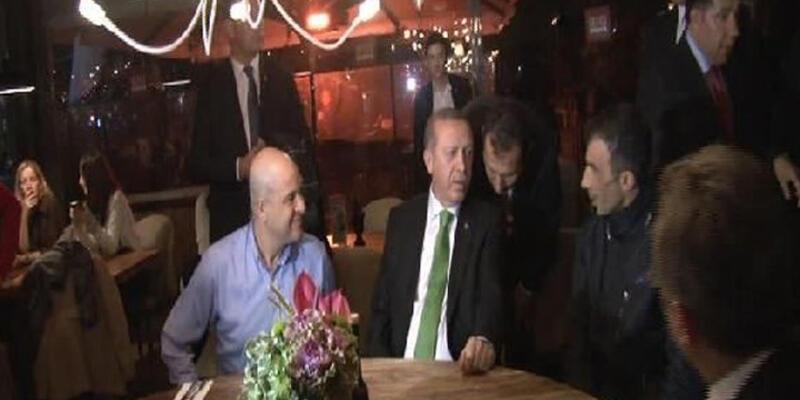 Cumhurbaşkanı Erdoğan Tarabya'da vatandaşlarla sohbet etti