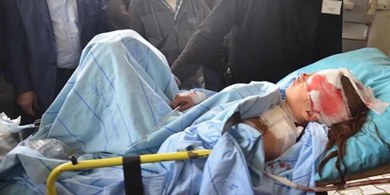 Yüksekova'da patlama: 2 çocuk yaralı