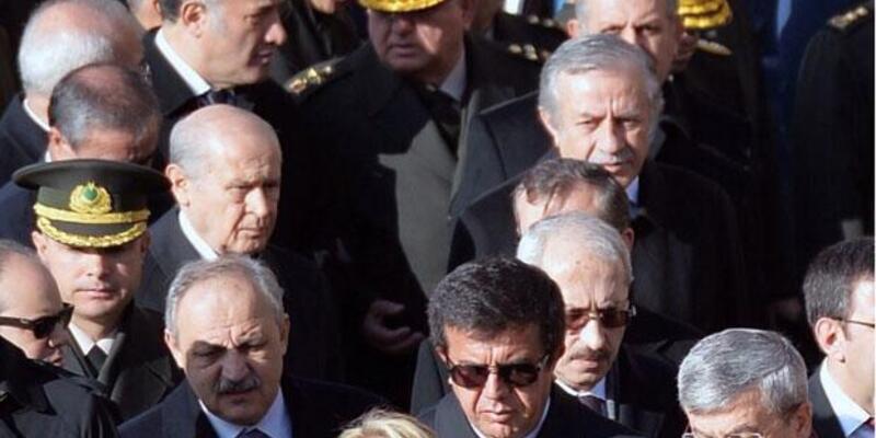 MHP'den Bahçeli Anıtkabir'e gitmedi iddiasına fotoğraflı yanıt