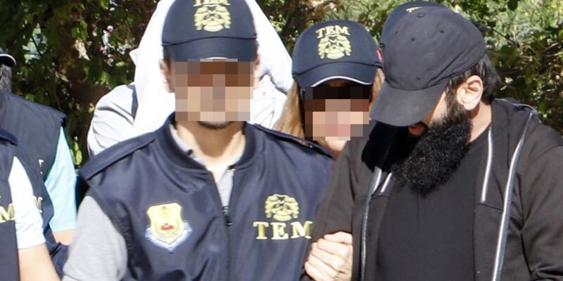 Antalya'daki IŞİD operasyonunda 1 tutuklama