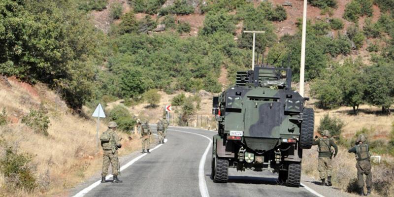 Silvan'da askeri araca mayınlı saldırı: 21 asker yaralandı