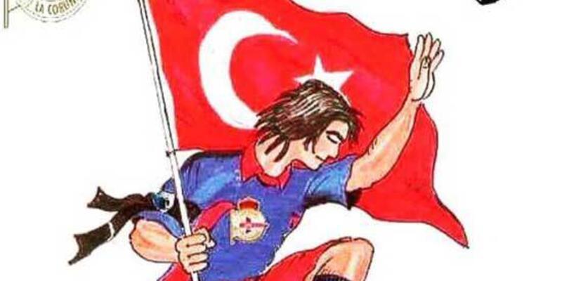 Deportivo taraftarı Atatürk'ü unutmadı