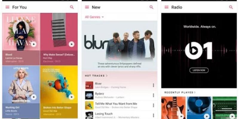 Apple Music Google Play'de!