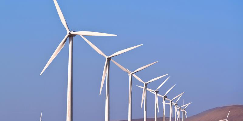 Kanije rüzgar santrali elektrik üretmeye başladı
