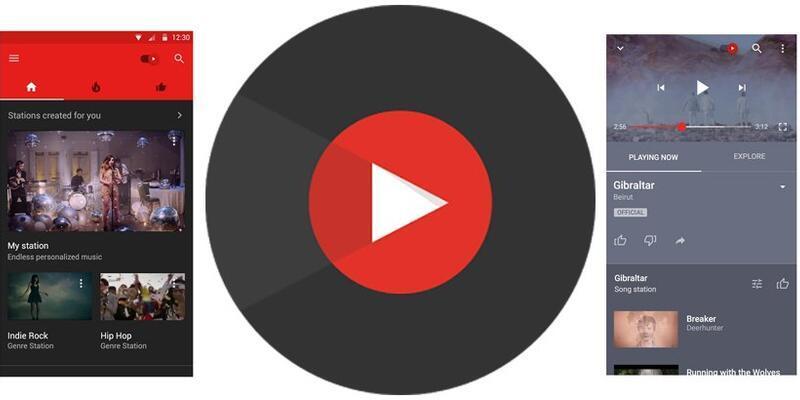 YouTube Müzik yayında