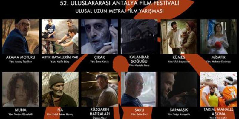 Antalya'da yarışacak yerli filmler belli oldu
