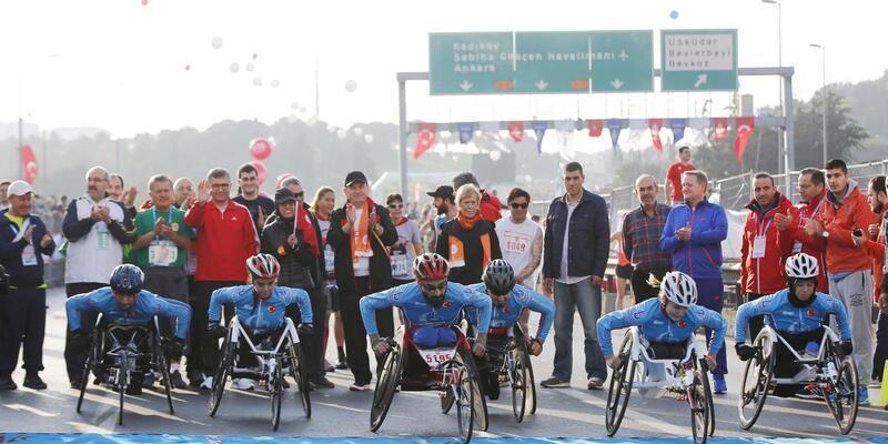 Vodafone 37. İstanbul Maratonu'nda bakın neler oldu