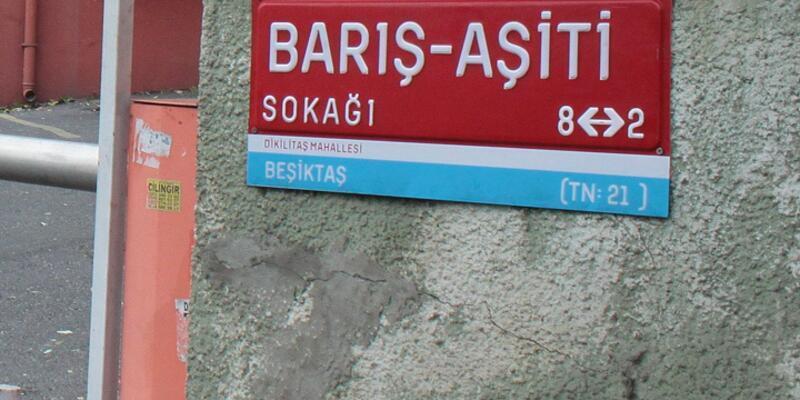 Beşiktaş'ta Kürtçe sokak ismi
