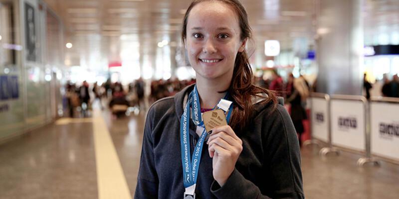 Viktoria Zeynep Güneş, Rio'da Türkiye için yüzecek