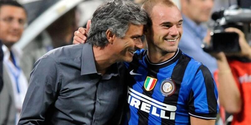 Mourinho Sneijder'ı çağırdı