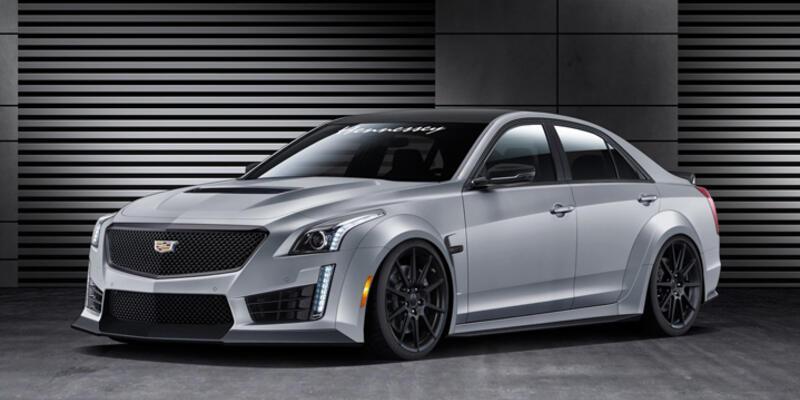 Cadillac CTS-V'ye Hennessey dokunuşu
