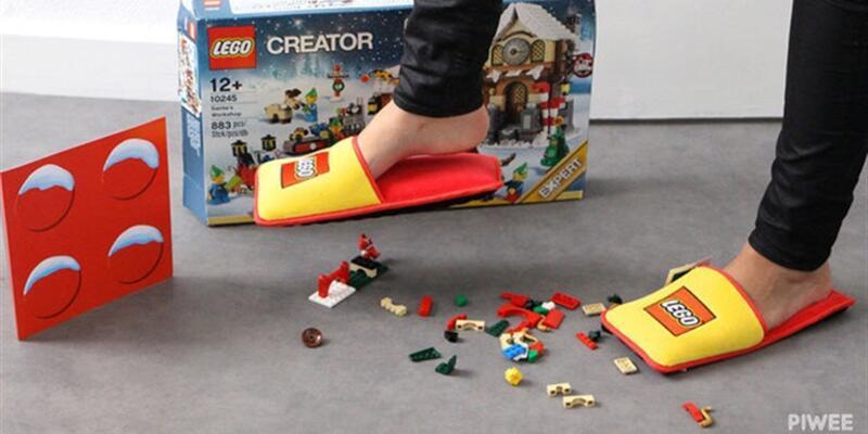 Özel LEGO terliği