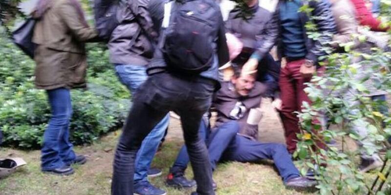 İstanbul Üniversitesi'nde polis müdahalesi: 5 gözaltı