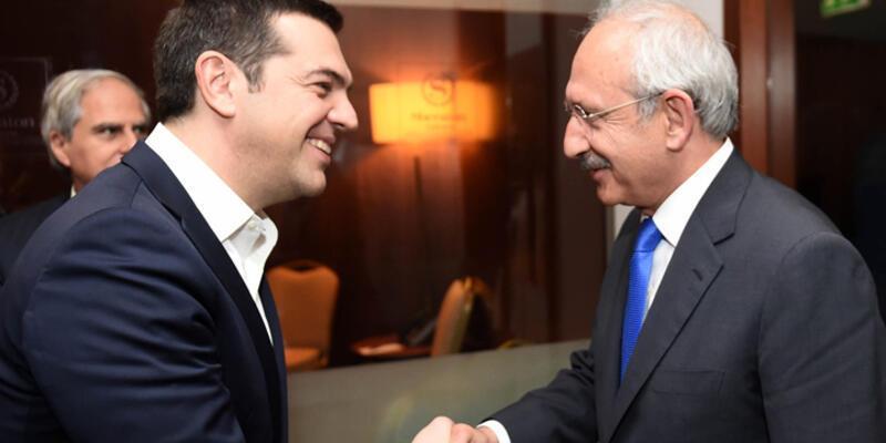 Çipras CHP ve HDP'lilerle bir araya geldi