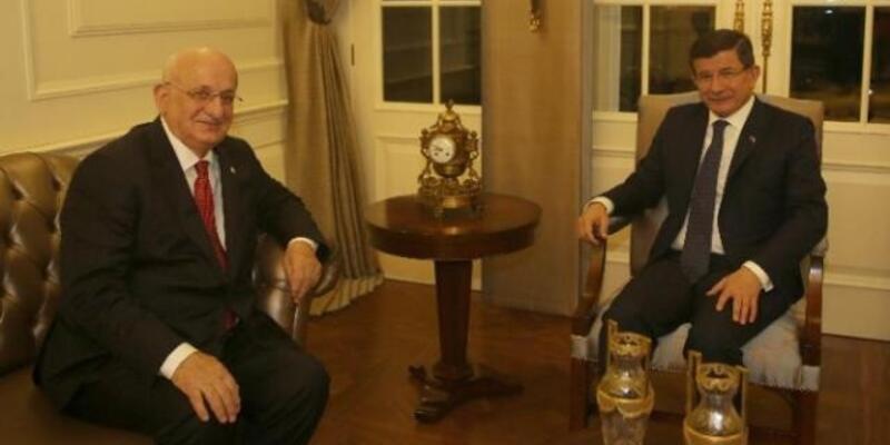 Davutoğlu AK Parti Meclis Başkan Adayı ile görüştü