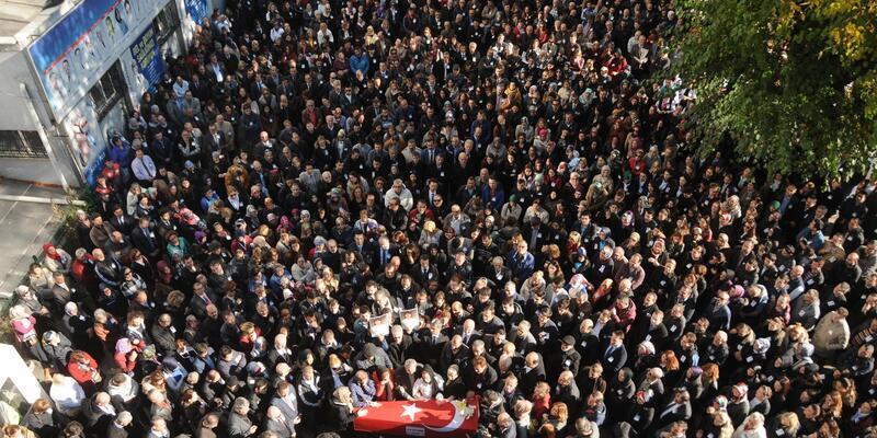Samsun'da öldürülen doktor sonsuzluğa uğurlandı