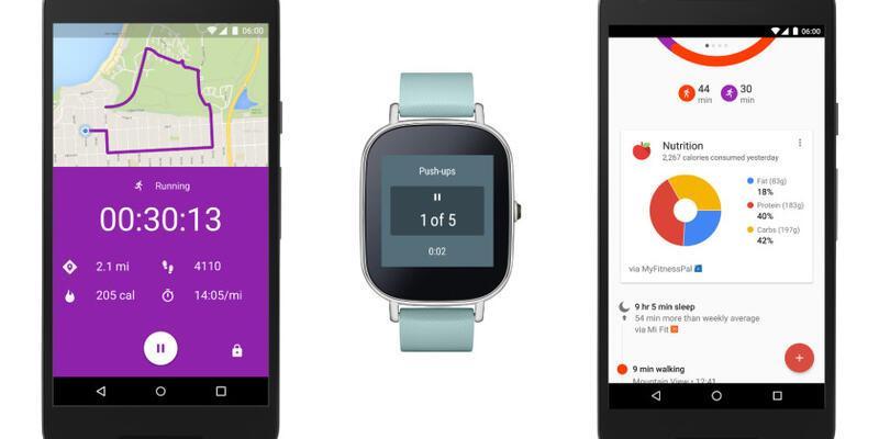 Google Fit'e yeni özellikler geldi