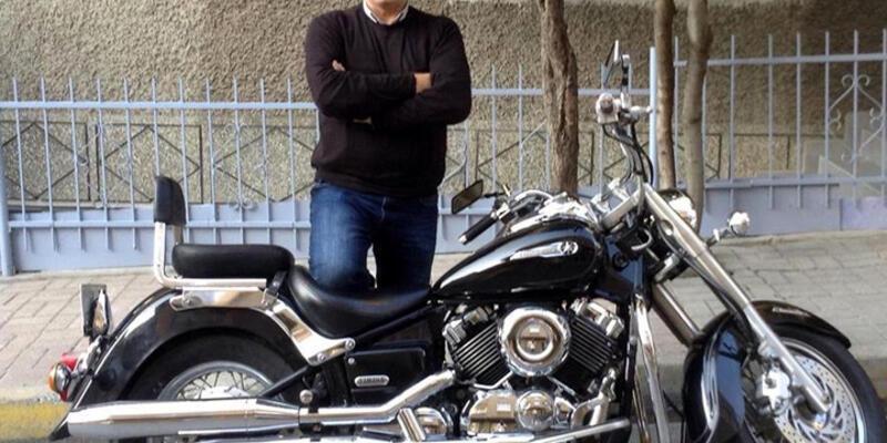 Lodosun savurduğu motorsikletin sürücüsü öldü