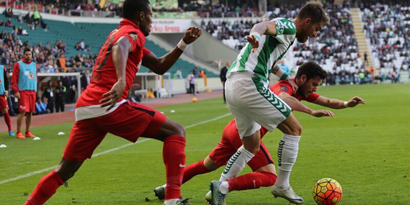 Konya'da 5 gollü maç!