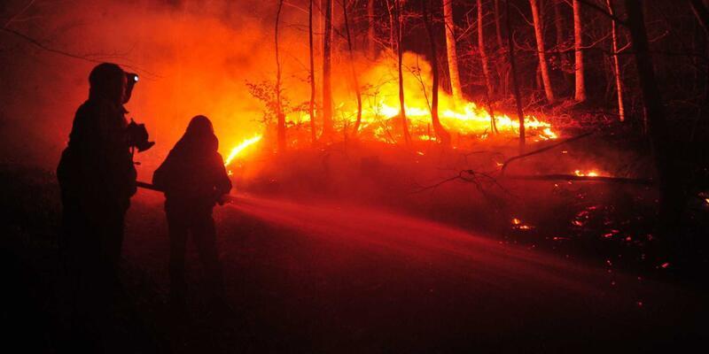 Lodos yangına sebep oldu