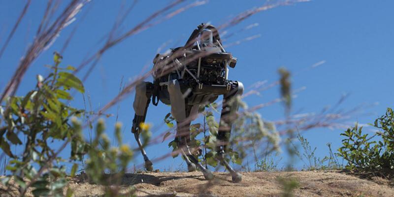 ABD ordusu robot eğitmeye başladı