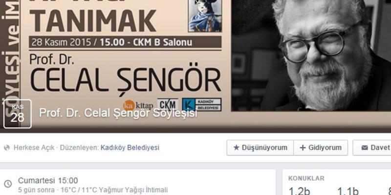 Kadıköy Belediyesi Celal Şengör söyleşisini iptal etti