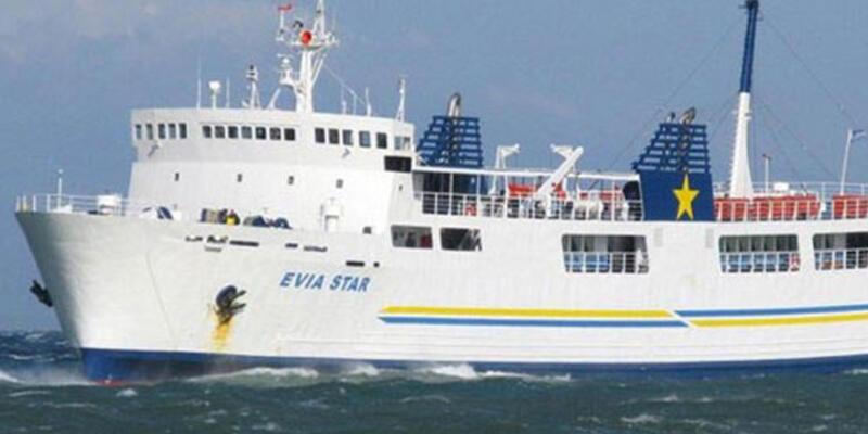 Bomba ihbarı Yunan feribotunu tahliye ettirdi