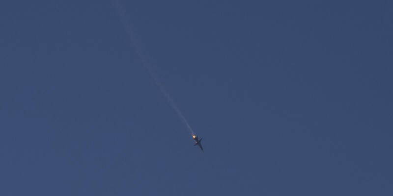 Düşürülen Rus uçağı için Çin'den açıklama