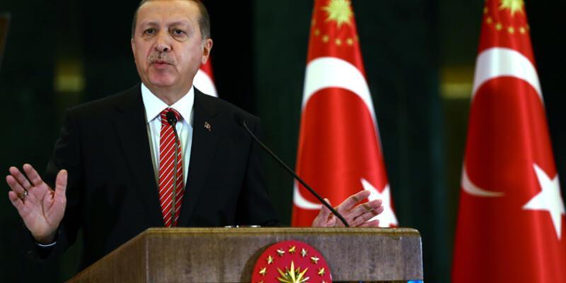 Cumhurbaşkanı Erdoğan'dan ''Başkanlık'' açıklaması